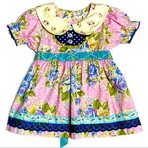 Matilda Jane Floral Easter Dress 12m
